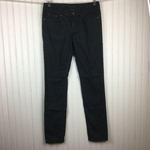 Prana Colored Print Skinny Jeans Kara Gray Stretch